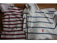 Ralph Lauren short sleeve polo shirts