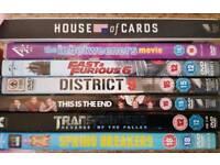 Assorted DVDs & 2 box sets