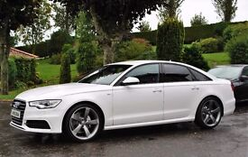 Audi A6 TDI S-Line 177 *** Black Edition Pack ****