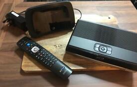 BT router and tv box with remote