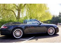 2009 REG PORSCHE 911 3.8S CARRERA CABRIOLET 997 (AUTO)FULL SERVICE HISTORY/EUROPE-SATNAV 05/17/MOT