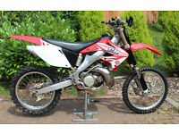 Honda CR250 Road registered