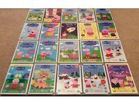 20 Peppa Pig DVDs Collection DVD Bundle