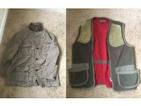 Orvis hunting coat jacket beating beater XL shooting free post deerhunter skeet waistcoat