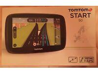 TomTom START 50 Sat Nav Western Europe