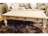 French style large coffee table
