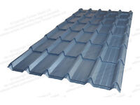 Steel / Metal / Tin / Cladding Tile Effect Plastisol 0.5mm (Various Colours Available)
