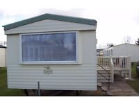 3 bed (8 berth) caravan on Haven's Thorpe Park in Cleethorpes. £50 bond & competitive weekly rates!!