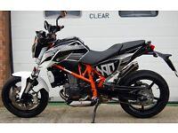 2012 KTM 690 DUKE 12 WHITE