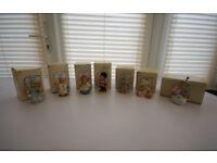 Cherished Teddies Collection x15 + x2 Enesco Display Cases