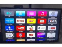 Apple TV box 3rd generation with remote and power lead apps