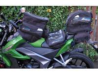 Oxford Motorcycle luggage set. Tank bag, tail bag