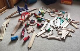 Wooden train set (Brio and other brands)