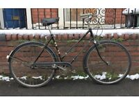 DELIGHTFUL 1950s RUDGE WHITWORTH BICYCLE WITH ORIGINAL BROOKS SADDLE