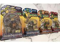 Teenage Mutant Ninja Turtles Robohunters action figures (collectables)