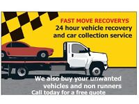 24 hour vehicle recovery and car collection service
