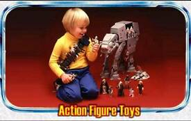 COLLECTOR OF OLD TOYS ACTION MAN , STAR WARS, LEGO , SUBBUTEO, HORNBY , CORGI