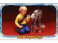 COLLECTOR OF OLD TOYS ACTION MAN , STAR WARS, LEGO , SUBBUTEO, HORNBY , CORGI