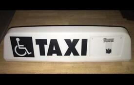 Taxi Sign NEW