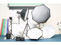 Professional Photography Studio for hire £60 - 4 Hours