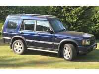 Land Rover Discovery TD5 ES. FSH. Excellent interior condition.