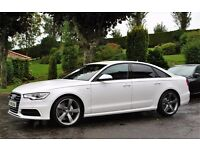 2 Audi A6 TDI S-Line 177 *** Black Edition Pack ***