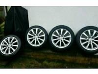 """Lexus is250 17"""" alloy wheels refurbished 8jj wide is200 is 200 is300 is220d"""