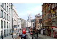 Economical office space to let on Fleet Street