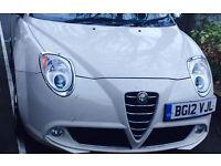 Alfa Romeo Mito White