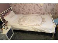 Lauren Ashley single girls bed