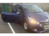 Peugeot 208 2012 active Pearl low Milage 70k aux bluetooth been serviced in perfect condition