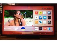 "50"" HITACHI SMART LED TV WIFI CAN DELIVER."