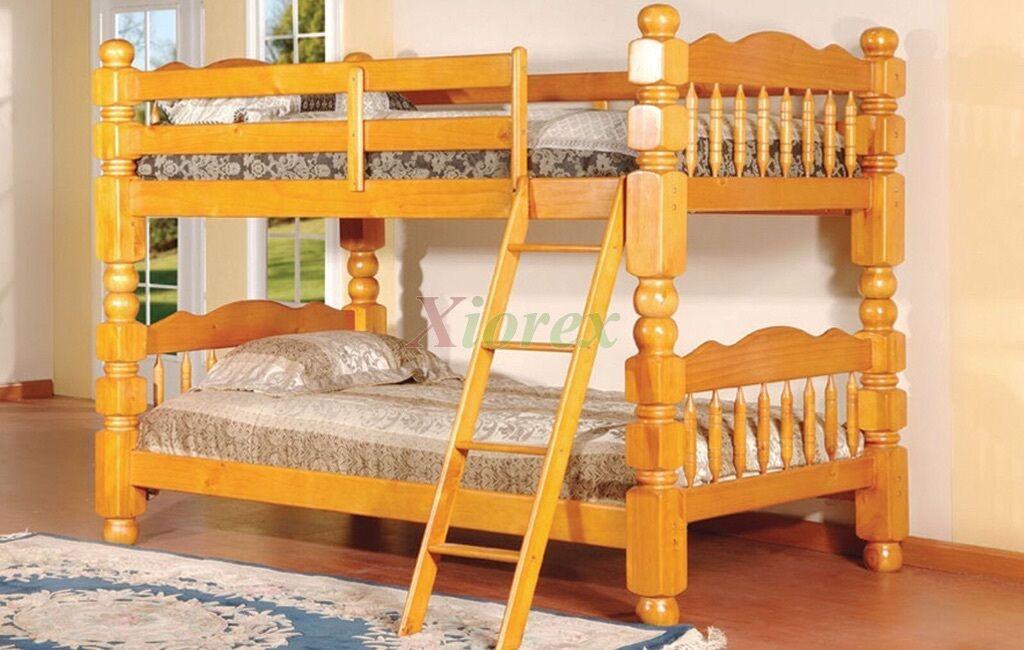 Heavy Duty Wooden Bunk Bed For Sale In Slough Berkshire Gumtree