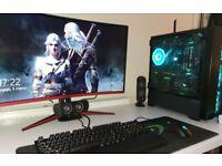 Gaming PC mega set!