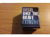 Brand New Sealed Genuine Authentic Diesel Only the Brave Extreme 50ml Aftershave for Men