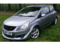 2007 VAUXHALL CORSA SXI 1.2 PETROL,LOW MILEAGE,ONE OWNER FROM NEW,TIMING CHAIN JUST FITTED