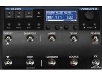 TC Helicon Voicelive 2 Effects Processor
