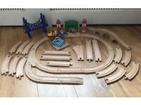 Brio wooden train track and accessories