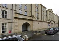 Private parking space in enclosed, underground parking lot in Tollcross/Bruntsfield – available NOW