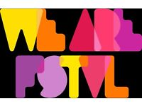 We Are FSTVL weekend festival ticket with camping pass