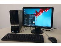 HP i3 Quad Core Windows 10 PC - SCHOOL COLLEGE OFFICE ++ FREE DELIVERY ++