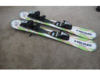 Ski Blades/Short Skis - 94cm - Head - complete with full release ski bindings - 2 pairs available