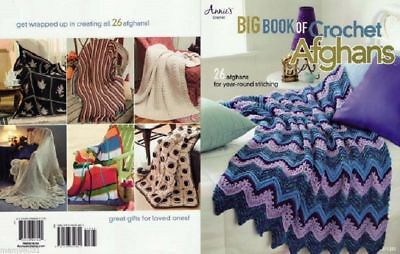 Crochet Pattern BIG Book AFGHANS ~ 26 Year Round Designs Baby, Family & Friends - Family Crochet Pattern