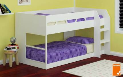 Snow White Single Low Line Bunk Bed