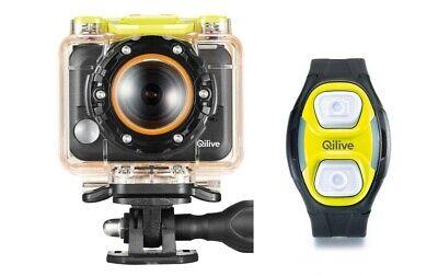 QILIVE Q.2655 - Caméra de sport + Bracelet Remote WIFI full-hd 30fps
