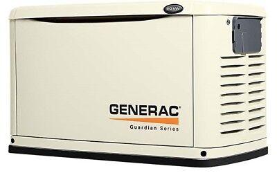 Generac 7039 Guardian Series 20kw Generator Alum Enclosure W 200a Se Switch