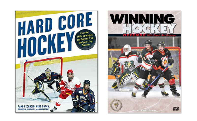 New Ice Hockey Instructional Book and Instructional DVD - Free Shipping included