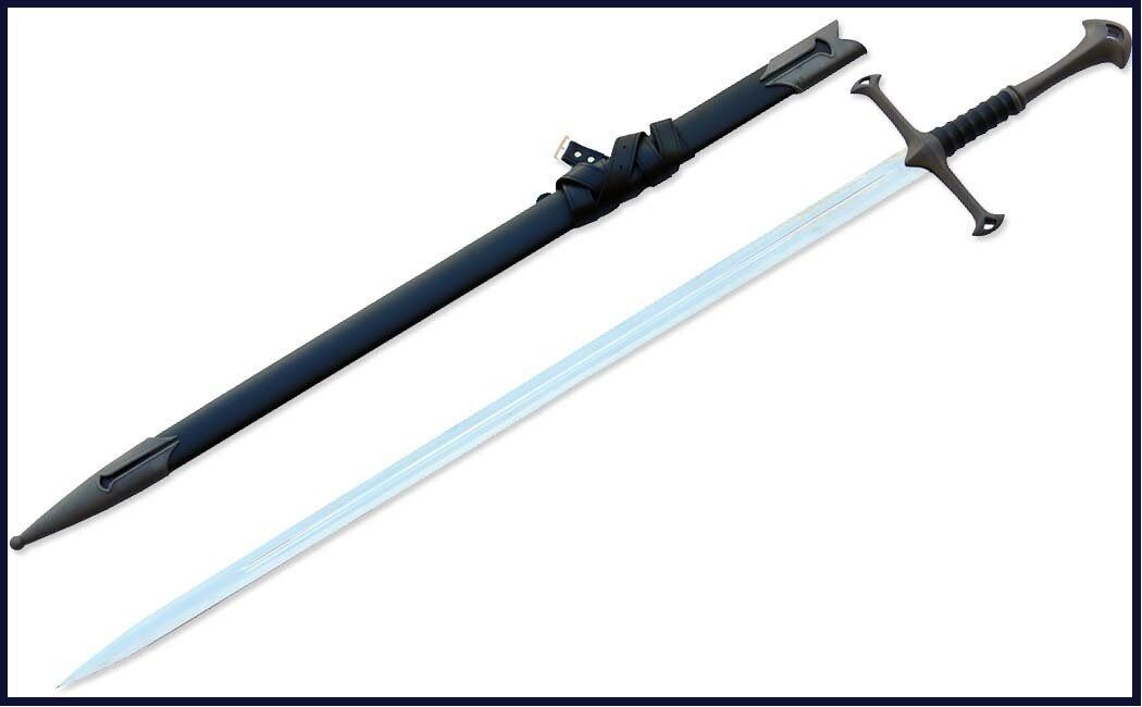 Medieval Scottish Claymore Sword Wood Handle 52 Inches Overall Length Lionsword