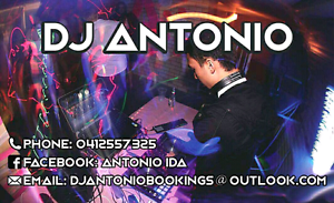 DJ ANTONIO FOR YOUR NEXT EVENT! Queenstown Port Adelaide Area Preview