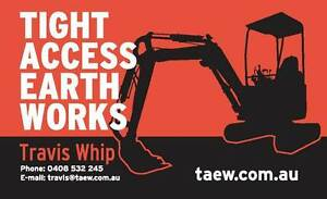 Tight Access Earthworks Pty Ltd Forest Glen Maroochydore Area Preview